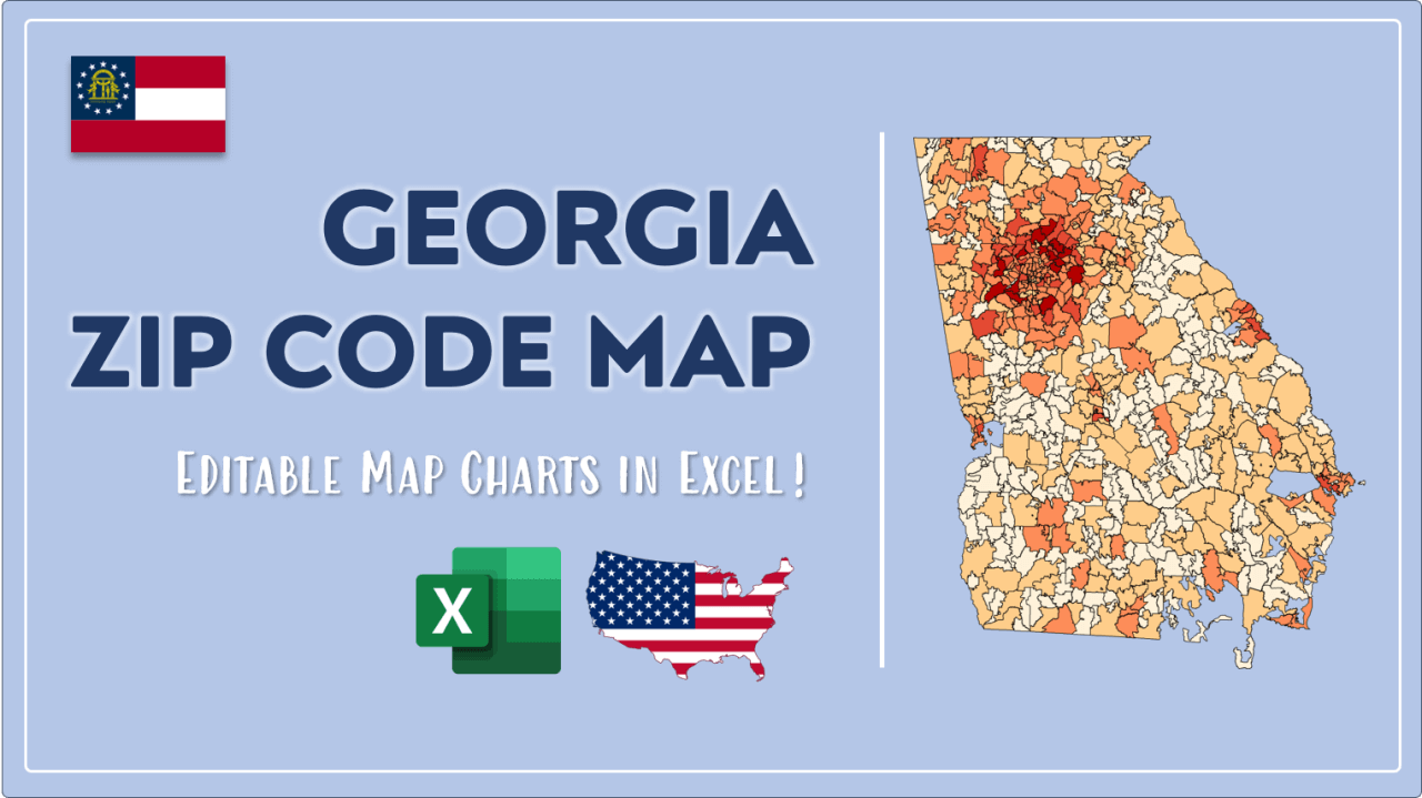 How to Paint Georgia Zip Codes Map Video Cover Image