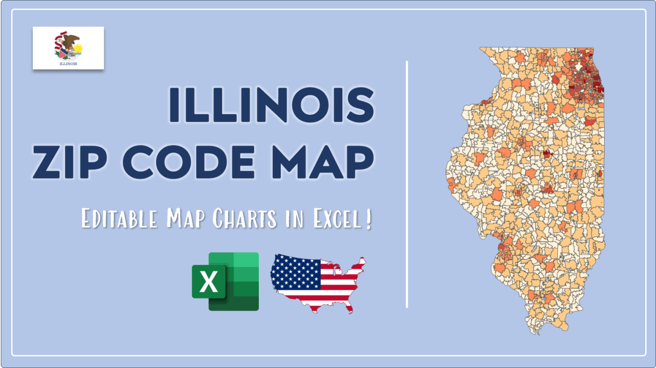 How to Paint Illinois Zip Codes Map Video Cover Image