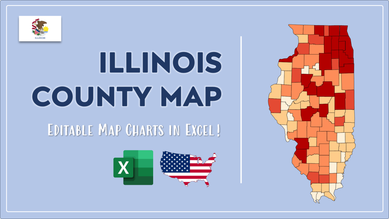 How to Paint Illinois Counties Map Video Cover Image