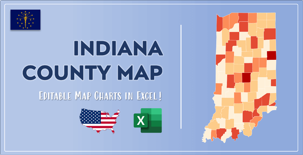 Indiana County Map Post Cover