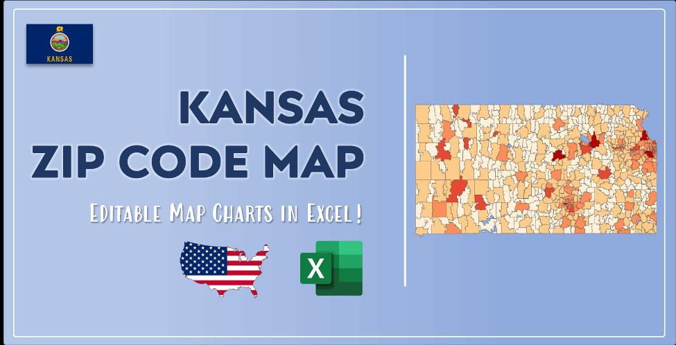 Kansas Zip Code Map Post Cover