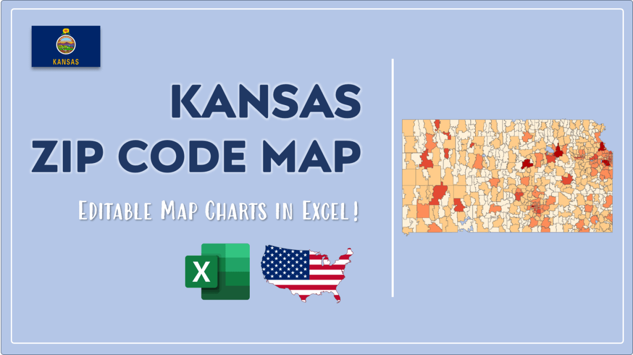 How to Paint Kansas Zip Codes Map Video Cover Image