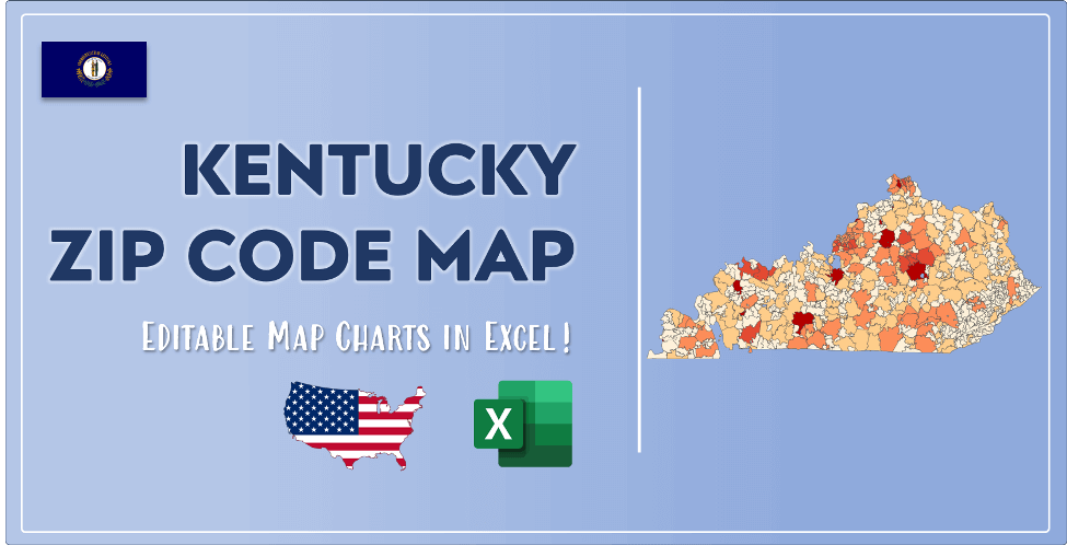 Kentucky Zip Code Map Post Cover