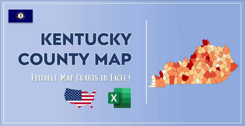 Kentucky County Map Post Cover