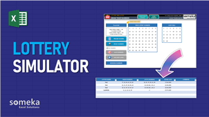 Lottery Simulator Template - Someka Excel Template Video