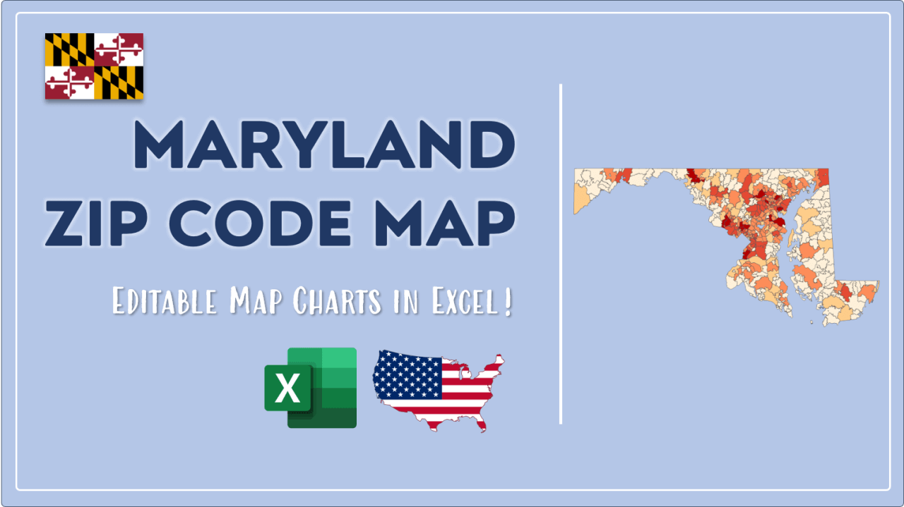How to Paint Maryland Zip Codes Map Video Cover Image