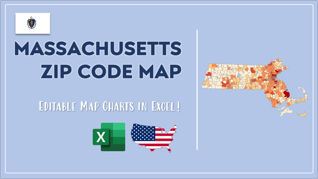 How to Paint Massachusetts Zip Codes Map Video Cover Image