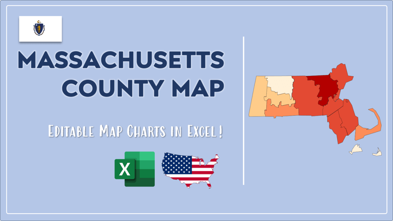 How to Paint Massachusetts Counties Map Video Cover Image