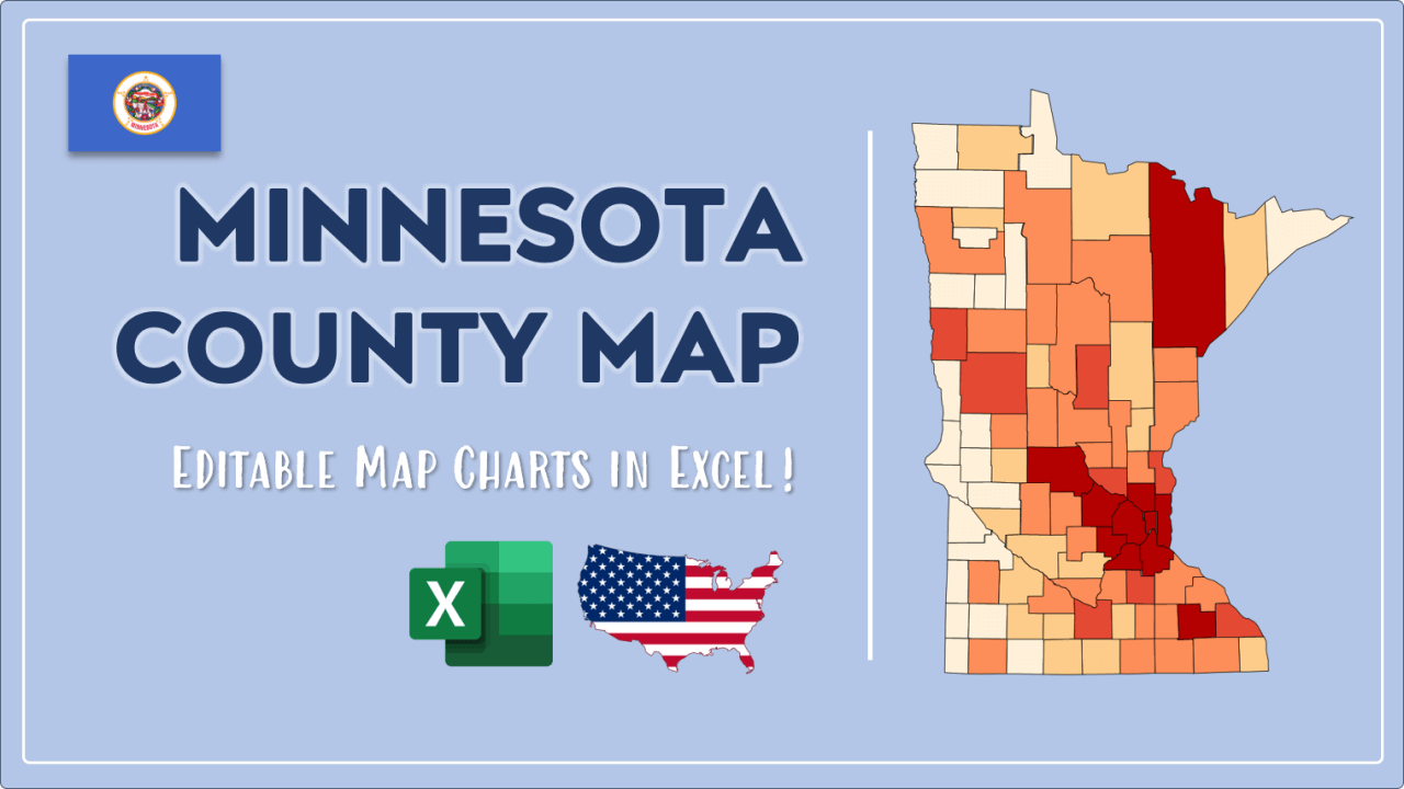 How to Paint Minnesota Counties Map Video Cover Image