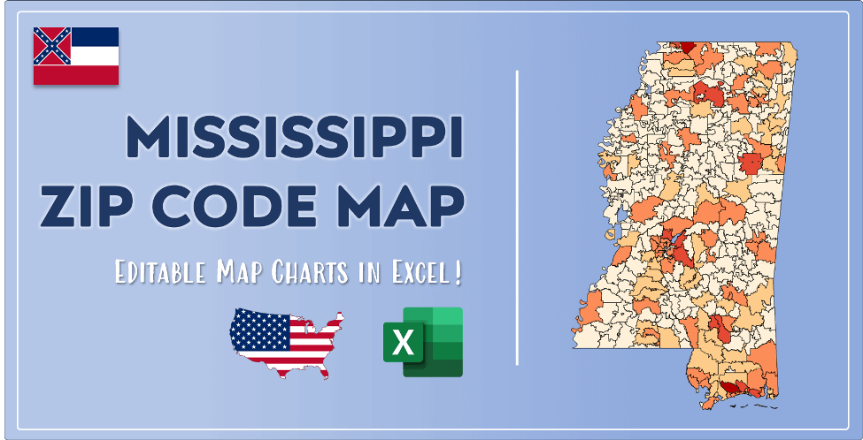 Mississippi Zip Code Map Post Cover