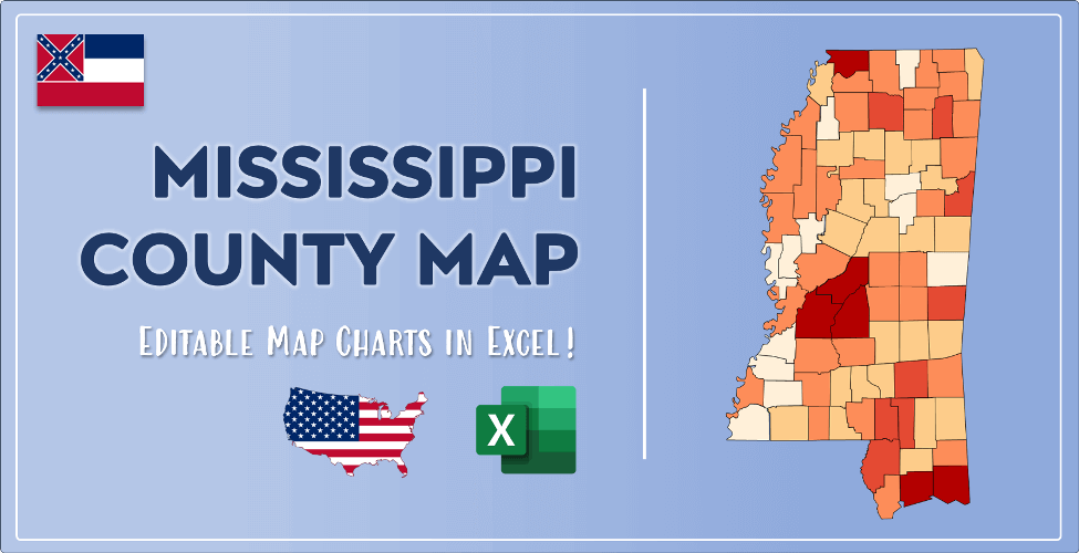 Mississippi County Map Post Cover