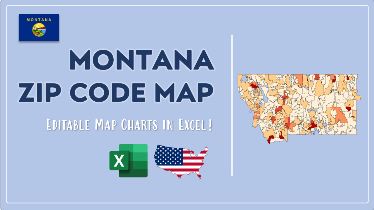 How to Paint Montana Zip Codes Map Video Cover Image