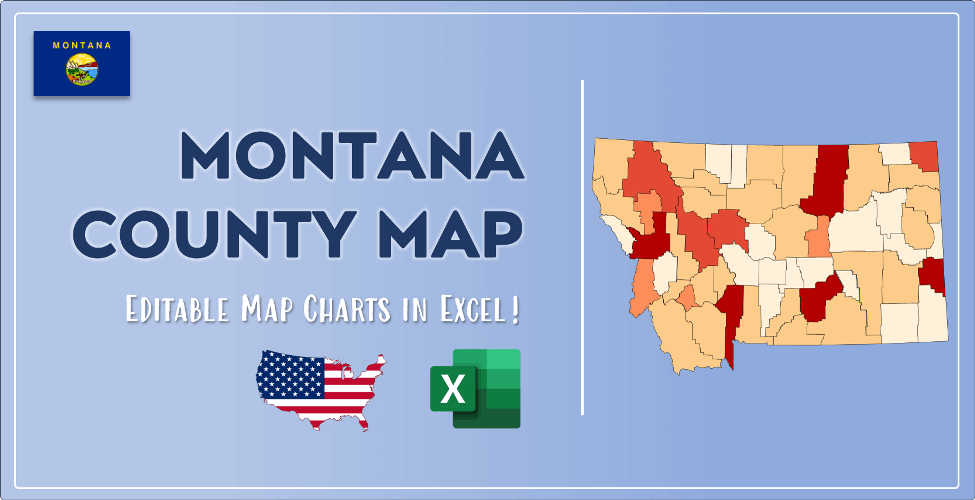 Montana County Map Post Cover