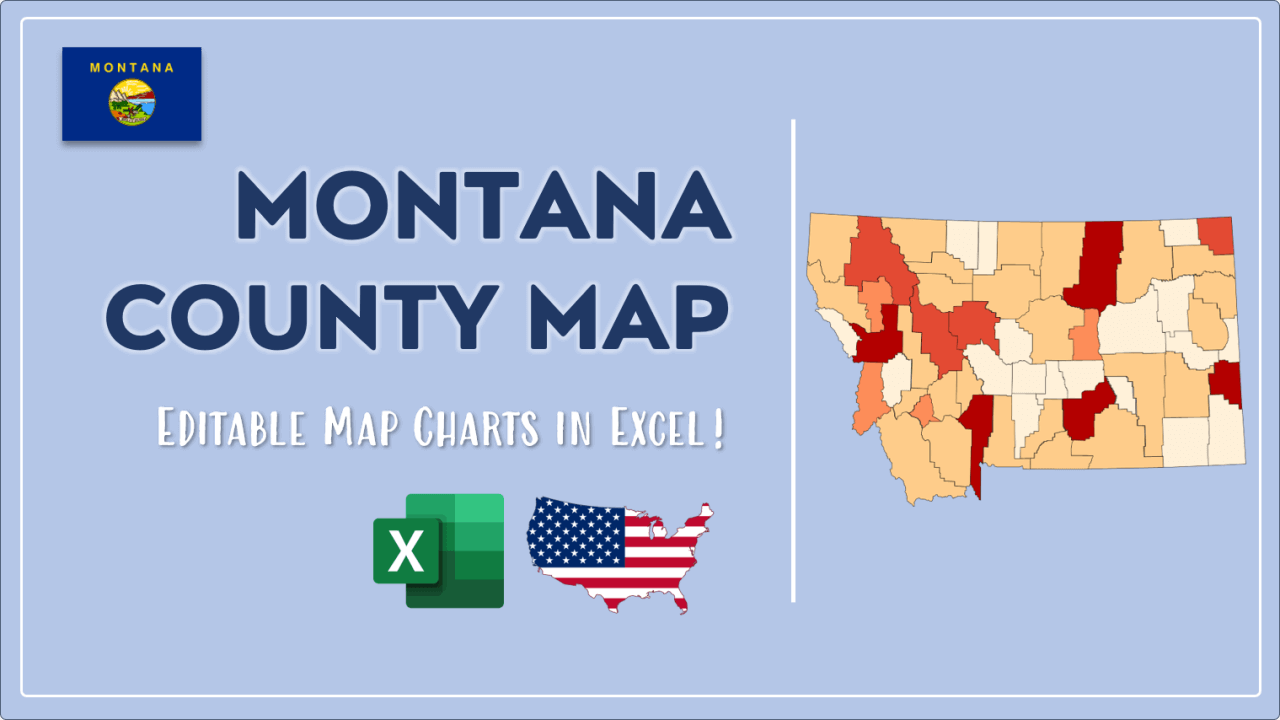 How to Paint Montana Counties Map Video Cover Image
