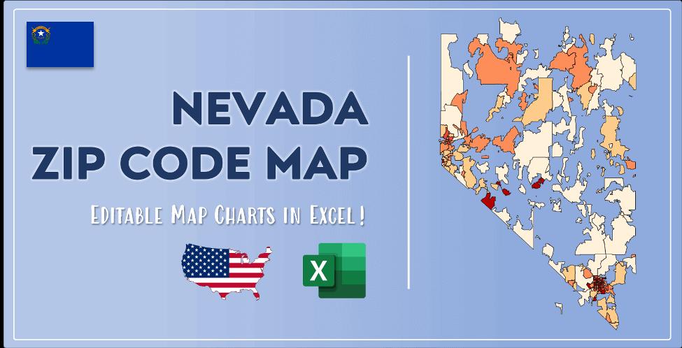 Nevada Zip Code Map Post Cover