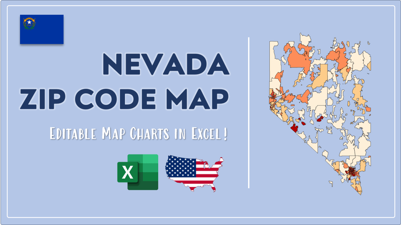 How to Paint Nevada Zip Codes Map Video Cover Image