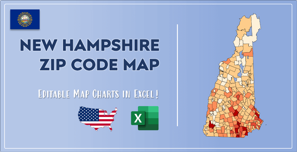 New Hampshire Zip Code Map Post Cover