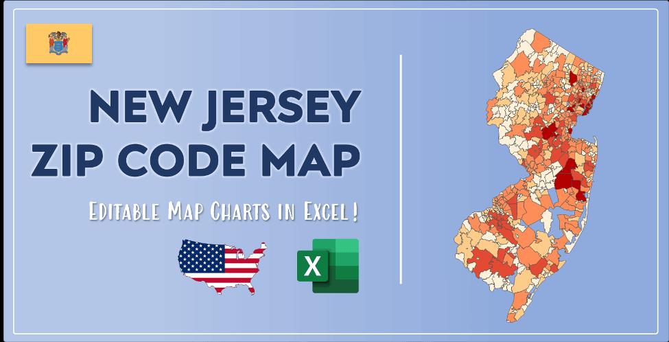New Jersey Zip Code Map Post Cover