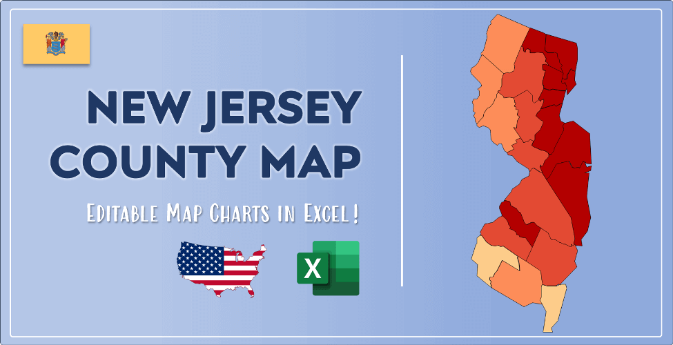 New Jersey County Map Post Cover