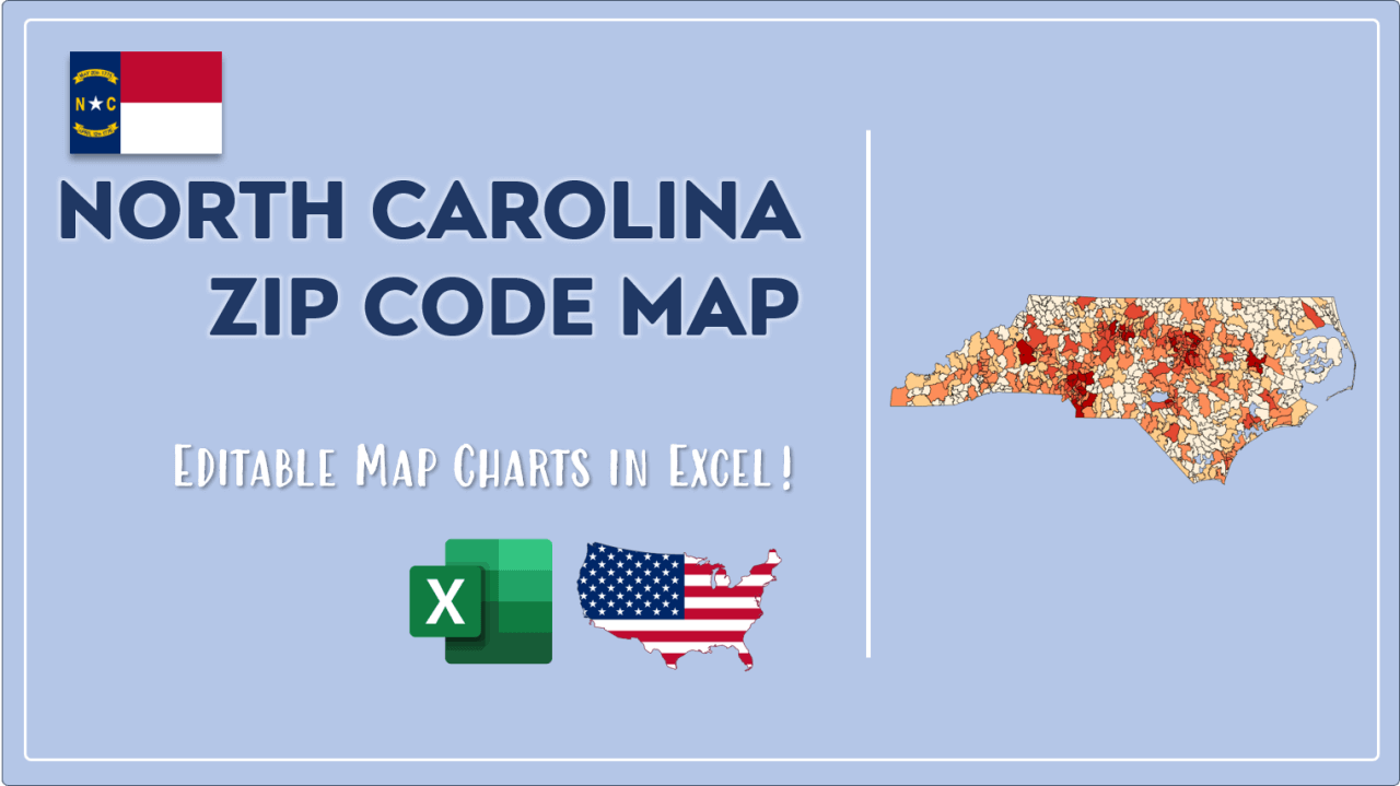 How to Paint North Carolina Zip Codes Map Video Cover Image
