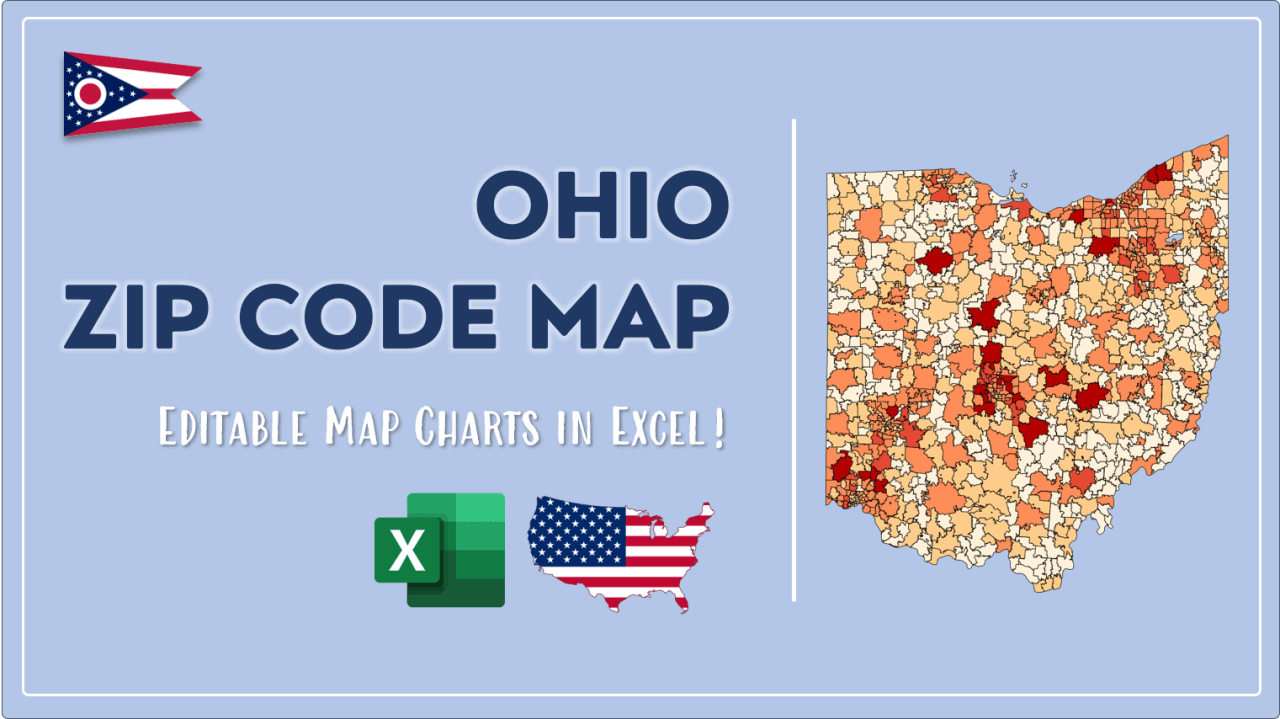 How to Paint Ohio Zip Codes Map Video Cover Image