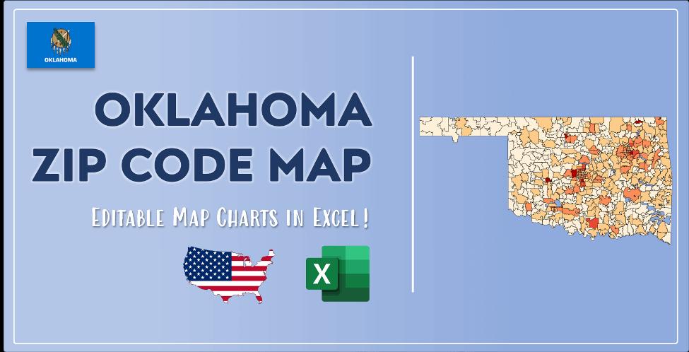 Oklahoma Zip Code Map Post Cover