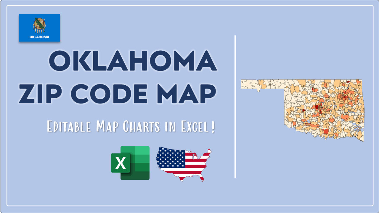 How to Paint Oklahoma Zip Codes Map Video Cover Image