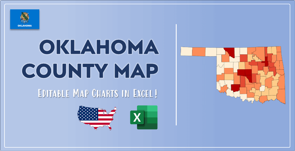 Oklahoma County Map Post Cover