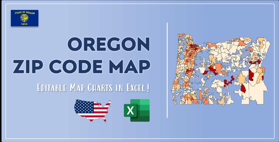 Oregon Zip Code Map Post Cover