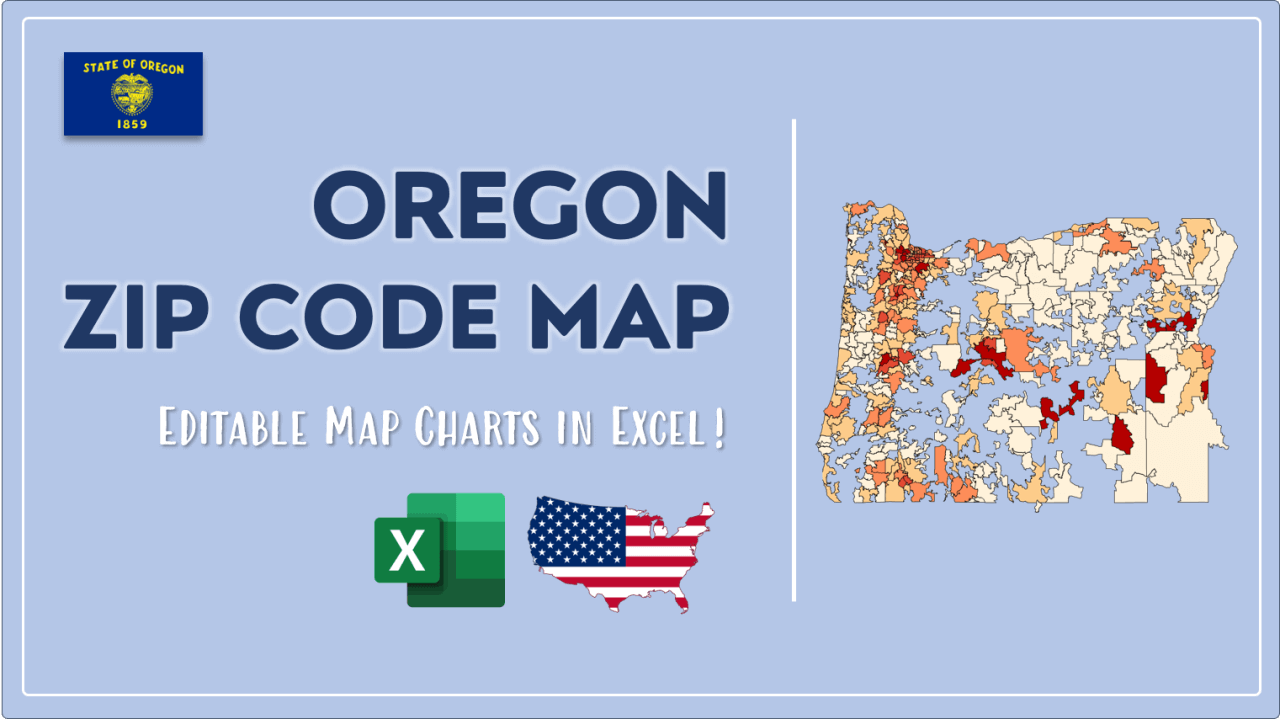 How to Paint Oregon Zip Codes Map Video Cover Image