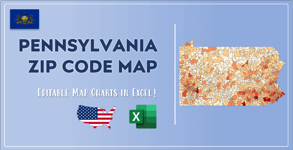 Pennsylvania Zip Code Map Post Cover