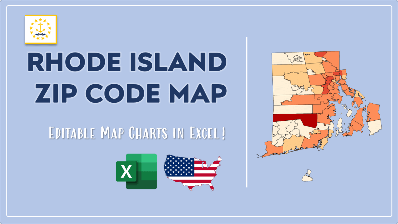 How to Paint Rhode Island Zip Codes Map Video Cover Image