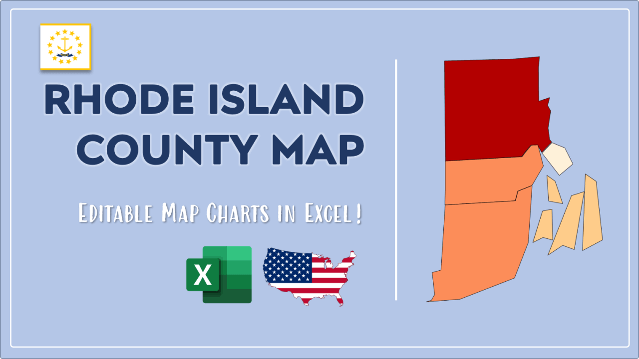 How to Paint Rhode Island Counties Map Video Cover Image