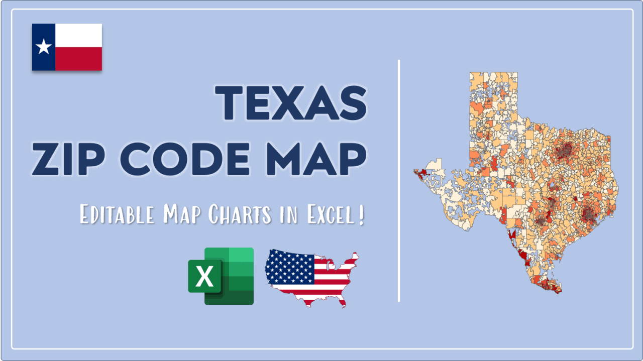 How to Paint Texas Zip Codes Map Video Cover Image