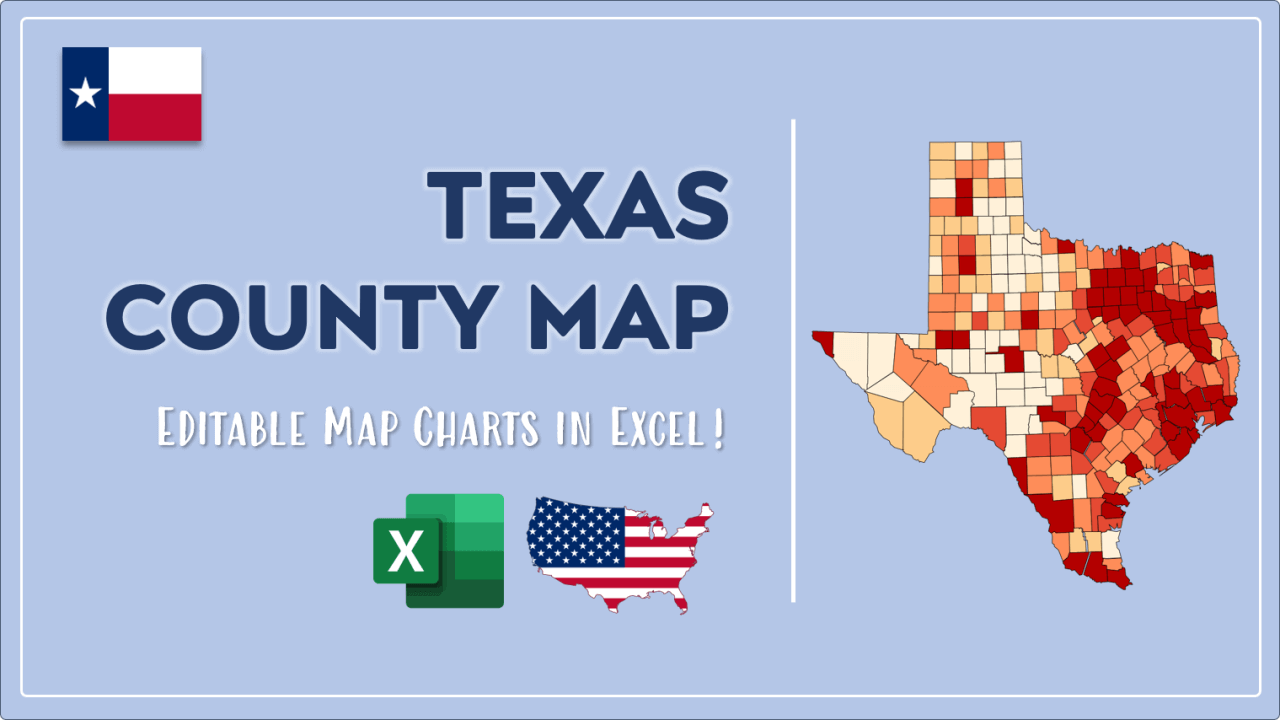 How to Paint Texas Counties Map Video Cover Image