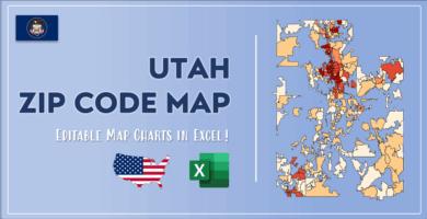 Utah Zip Code Map Post Cover