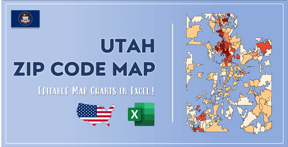 Utah Zip Code Map Post Cover
