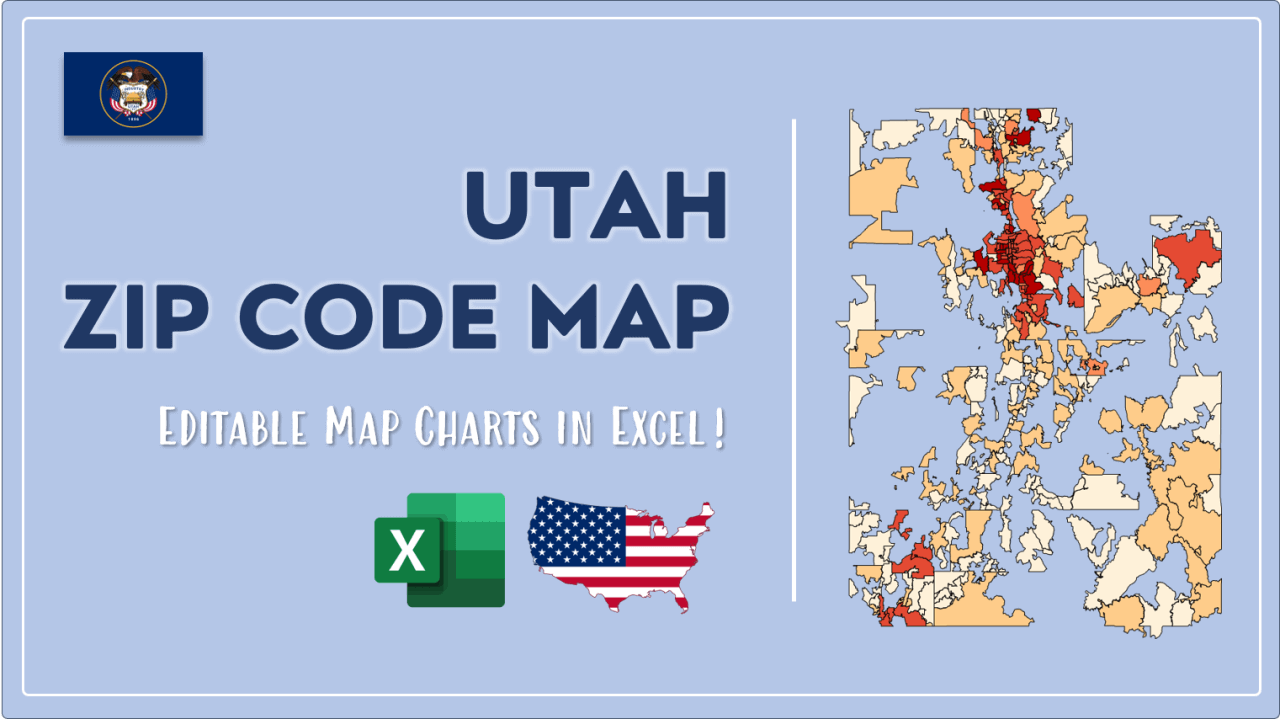 How to Paint Utah Zip Codes Map Video Cover Image
