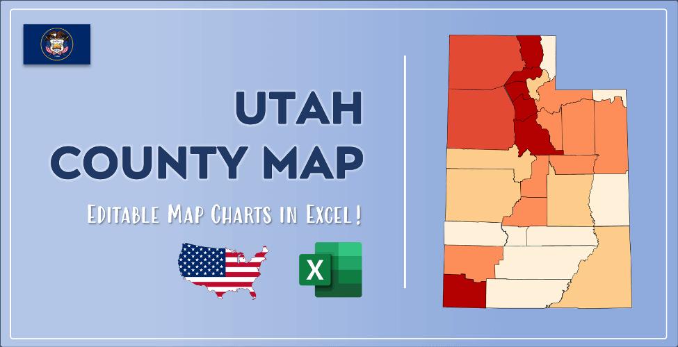 Utah County Map Post Cover