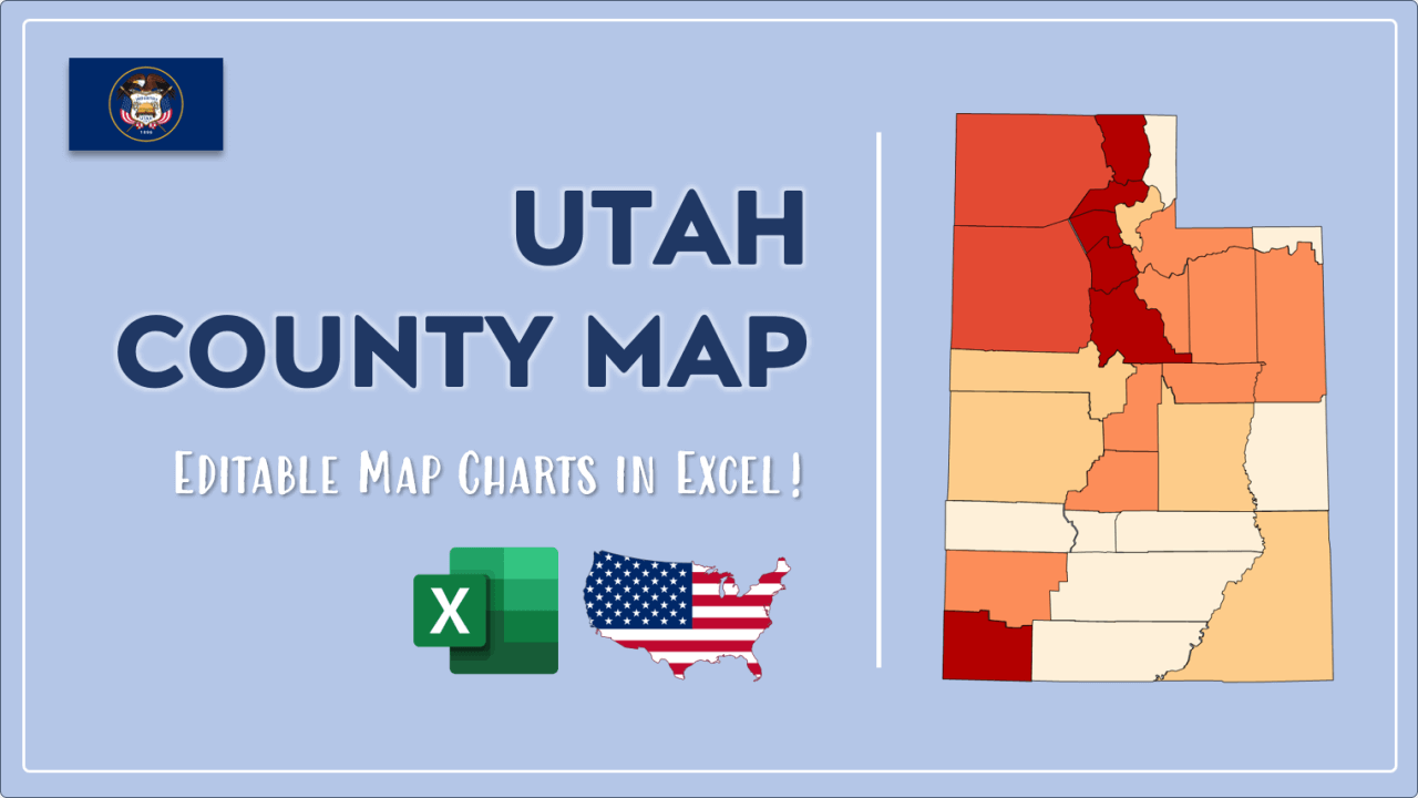 How to Paint Utah Counties Map Video Cover Image