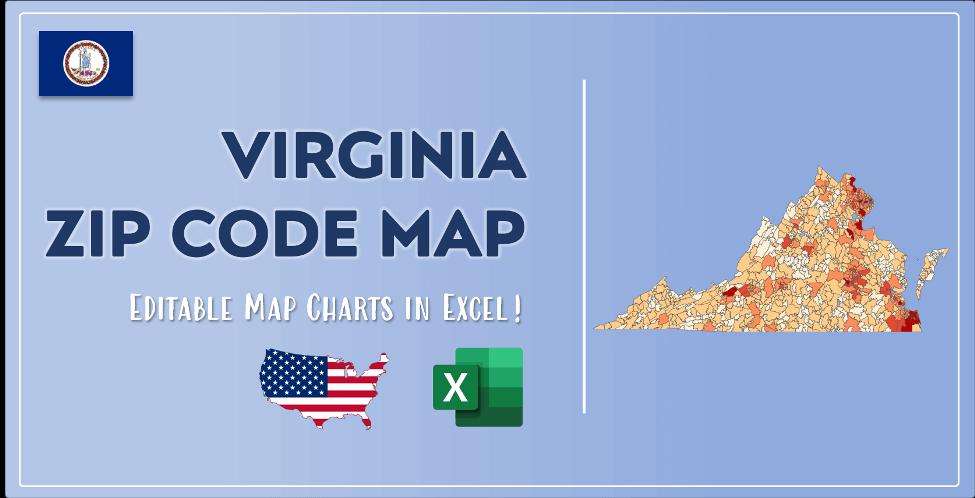 Virginia Zip Code Map Post Cover