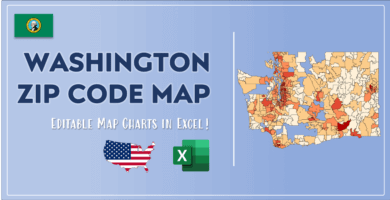 Washington Zip Code Map Post Cover