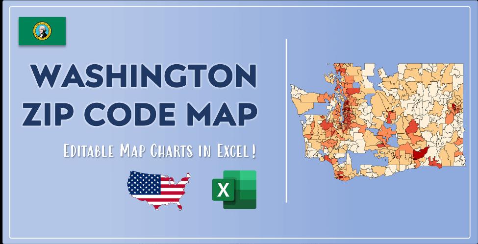 Washington Zip Code Map Post Cover