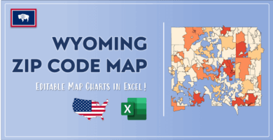 Wyoming Zip Code Map Post Cover