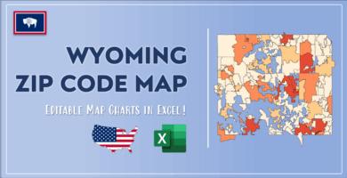 Wyoming Zip Code Map Post Cover