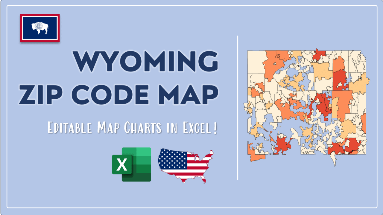 How to Paint Wyoming Zip Codes Map Video Cover Image