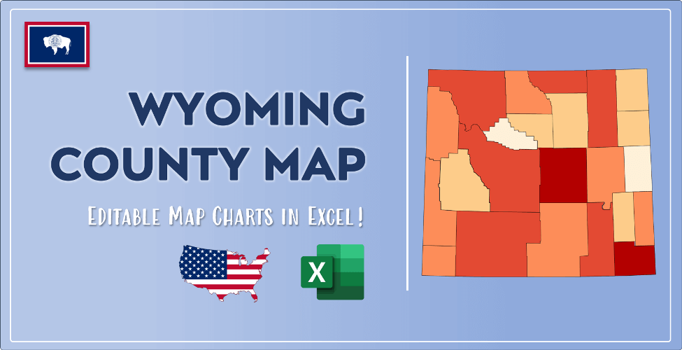 Wyoming County Map Post Cover