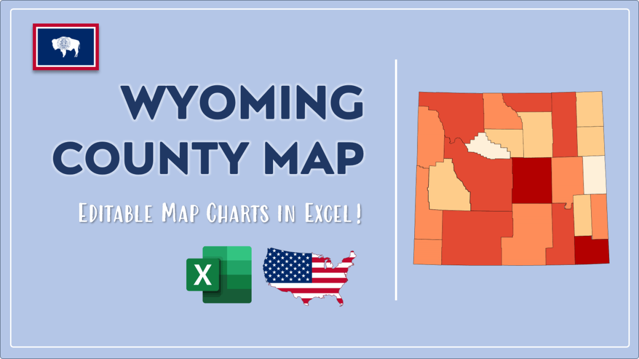 How to Paint Wyoming Counties Map Video Cover Image