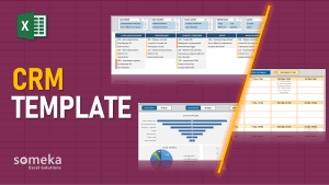 CRM Template - Someka Excel Template Video