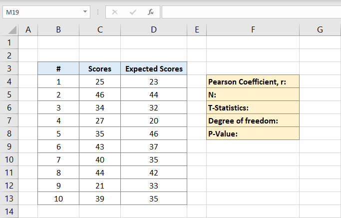 how-to-calculate-pearson-coefficient-in-excel